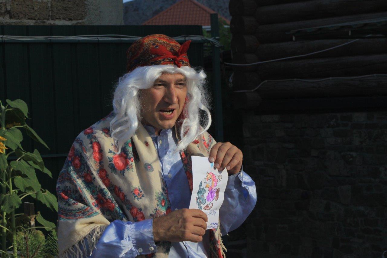 Сценка Поздравление от Бабы Яги - Веселые анекдоты
